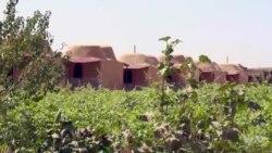 সিরিয়ার একটি গ্রামে কেবল নারী-শিশুরাই থাকেন