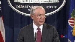 美國司法部長迴避有關俄羅斯插手選舉的調查 (粵語)