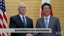 副总统彭斯赴日本访问 安抚亚洲盟友