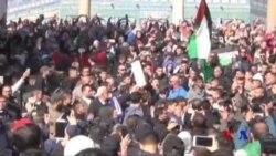 中東抗議活動持續 以色列空襲加沙軍事目標