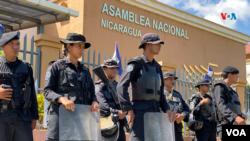El informe del Departamento de Estado de EE.UU. compila las graves denuncias de violaciones a los derechos humanos en Nicaragua a manos de la Policía Naciocnal, y algunos poderes del Estado. Foto Houston Castillo, VOA.