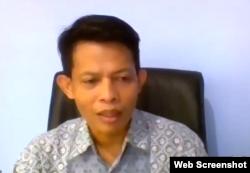 Ketua Bawaslu Kalimantan Timur, Saipul. (Foto: screenshot)