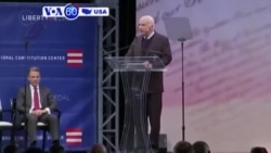 VOA60 America - Senator John McCain warns the United States against the rise of nationalism