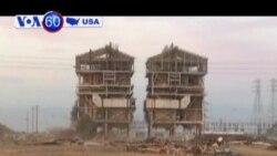 Bị cưa chân vì đi xem nhà máy bị phá bỏ
