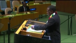 Zimbabwe President Delivers First UN Speech, Calls for UN Reform, End of Sanctions