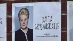 立陶宛總統格里包斯凱特面臨決選