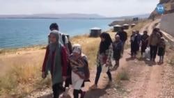 Türkiye'ye Giden Afgan Mültecilerin Tehlikeli Yolculuğu