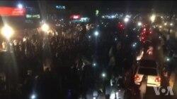 کامونکی کے قریب سے گزرتے 'آزادی' مارچ کے چند مناظر