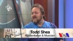 Cafe DC: Humanitarian Todd Shea