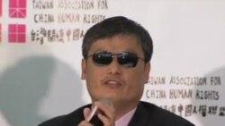 陈光诚:台湾能成为中国的政治典范