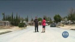 У Лос-Анджелесі випробовують покриття, яке може знизити температуру поверхні дороги. Відео