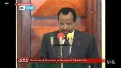 Paul Biya prête serment au Cameroun (vidéo)