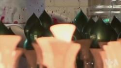 捷克的手制圣诞节玻璃装饰