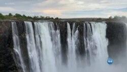 Cataratas Victoria, mudanças de clima ou questōes sazonais?