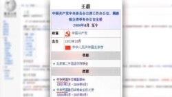 网页乌龙 王毅当过中华民国外交部副部长?