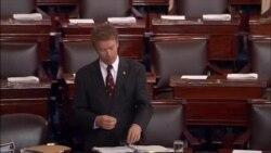 US Senate Paul Filibuster
