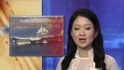 Tàu sân bay TQ về căn cứ sau loạt diễn tập tại Biển Đông