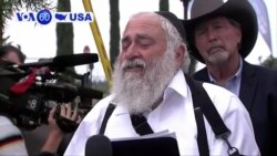 VOA60 America - Wounded Rabbi: Nothing Will Take Down the Jewish People
