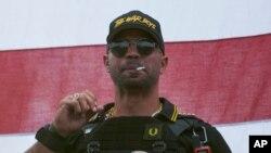 """Henry """"Enrique"""" Tarrio, líder do grupo de extrema direita Proud Boys"""