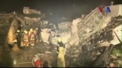 Gần 50 người thiệt mạng trong vụ rơi máy bay ở Đài Loan
