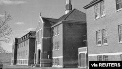 Glavna administrativna zgrada Rezidencijalne škole za Indijance Kamlups u Kamlups, Britanska Kolumbija, Kanada, 1970. godine (Foto: Biblioteka i arhiv Kanade, via Reuters)