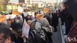 تجمع مالباختگان کاسپین مقابل مجلس: پولهای ما گم شده، قربانی رانت بزرگان شده