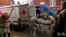 乌克兰战事不断 民用医院挤满伤兵