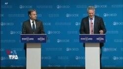 پوشش زنده کنفرانس خبری بلینکن وزیر خارجه آمریکا و ماتیاس کورمان