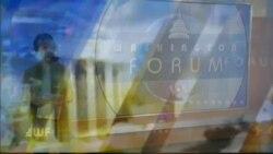 Washington Forum du 4 janvier 2018 : Georges Weah, nouveau président du Liberia