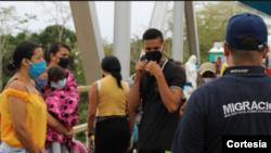 El Estatuto Migratorio expedido por Colombia solo ampara a los ciudadanos venezolanos que entraron al país hasta el 31 de enero de 2021. Foto cortesía Migración Colombia.