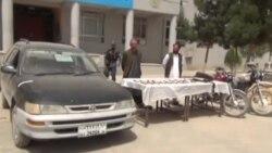 بازداشت چهار فروشنده مواد مخدر در ولایت بادغیس
