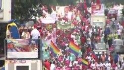 數千人抗議古巴干預委內瑞拉內政
