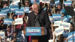 Сандерс зібрав на мітингу у Нью-Йорку рекордну кількість виборців. Відео