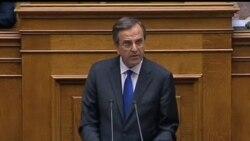 2012-11-08 美國之音視頻新聞: 希臘國會通過新一輪財政緊縮措施