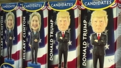 Souvenir Sales Indicate Voter Preference
