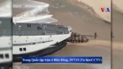 TQ tập trận ở Biển Đông, gây thêm căng thẳng