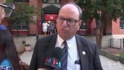 纽约华人集会抗议市长废除特殊高中考试制度