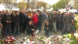 Paris Holds Moment of Silence for Terror Attack Victims