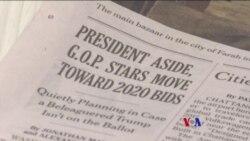 2017-08-07 美國之音視頻新聞: 彭斯否認籌劃2020年競選總統 (粵語)