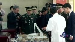 韩国移交中国军人遗骸