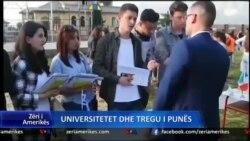 Shqipëri, universitetet dhe tregu i punës