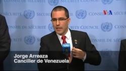 """Arreaza sobre sanciones: Argumentos de EE.UU. son """"absurdos"""""""
