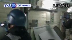Phá hủy kho vũ khí hóa học của Syria sang ngày thứ hai (VOA60)