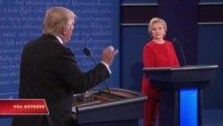 Cử tri gốc Việt: không ai thắng rõ ràng trong tranh luận Clinton-Trump