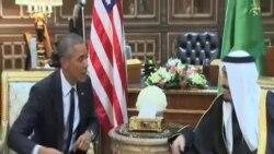 奧巴馬率團赴沙特悼念已故沙特