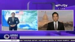 """Laporan Langsung VOA untuk RTV: Kebijakan Trump dan Pidato 'State of The Union"""""""