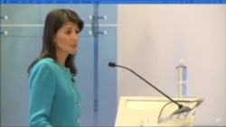 Haley: Iran Nuclear Deal Flawed