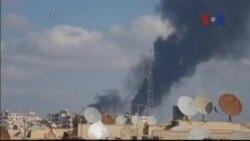 Syria không kích thành phố do Nhà nước Hồi giáo chiếm giữ