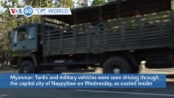 VOA60 World- Military vehicles seen in capital