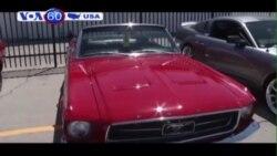 Xe thể thao nổi tiếng Mustang mừng 50 tuổi